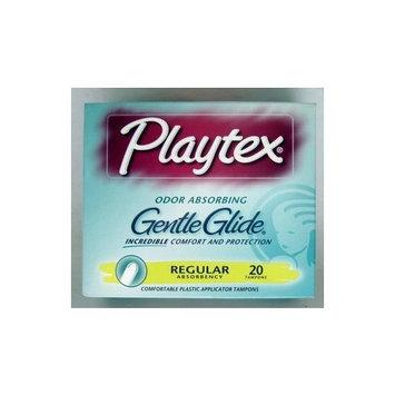 Playtex Gentle Glide Regular Tampons, 20 Count