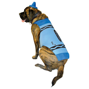 Rasta 4533-XL CRY Blue Dog Costume - X-Large