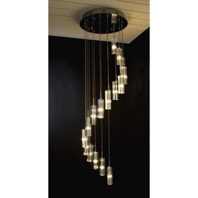Trend Lighting Corp. Spirale 16 Light Crafted Chandelier