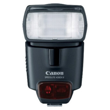 Canon Speedlite 430EX II Flash for Canon DSLR Cameras - Black