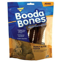 Booda Bones Biggest Bone 5 Pack (For Dogs Over 50 lbs) - Peanut Butter
