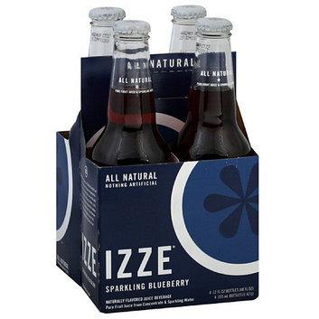 IZZE Sparkling Blueberry Flavored Juice Beverage