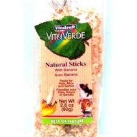 Vitakraft Rat, Mouse and Gerbil Vita Verde Banana Natural Stick Bag