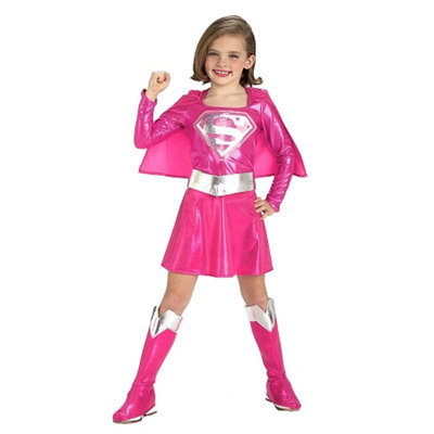 Rubies Costumes Pink Supergirl Toddler Child Costume