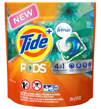 Tide Pods Plus Febreze