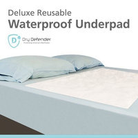 J Lamb Waterproof Mattress Sheet Protector Bed Underpad - Super Absorbent Large 36 x 54 inches