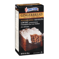 Sweet'N Low Gingerbread Snack Cake Mix