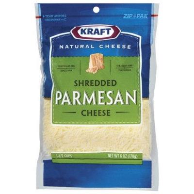 Kraft Shredded Parmesan Cheese 6 oz