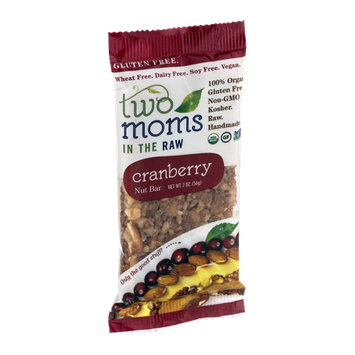 Two Moms In The Raw Gluten Free Nut Bar Cranberry