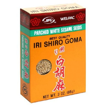 Wel-Pac Wel Pac, Ssnng White Sesame Seed, 3-Ounce (12 Pack)