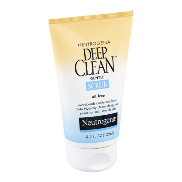 Neutrogena Oil Free Deep Clean Gentle Scrub