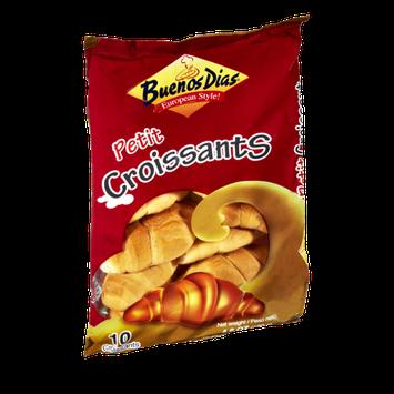 Buenos Dias European Style Petit Croissants - 10 CT