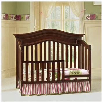 Baby Cache Heritage Toddler Guard Rail - Cherry
