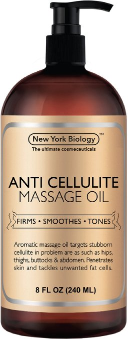New York Biology Anti-Cellulite Treatment Massage Oil