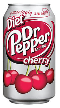 Dr Pepper® Diet Cherry Soda