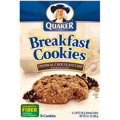 Quaker® Breakfast Cookies Oatmeal Chocolate Chip