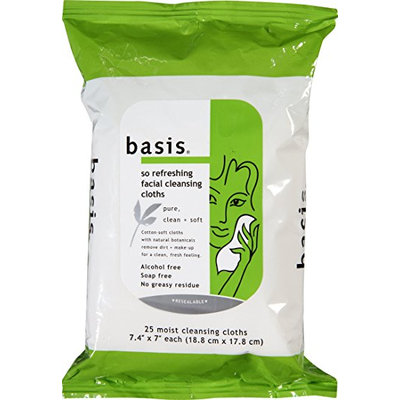 Basis So Refreshing Facial Cleansing Cloths