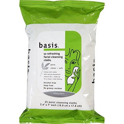 Basis So Refreshing Facial Cleansing Cloths