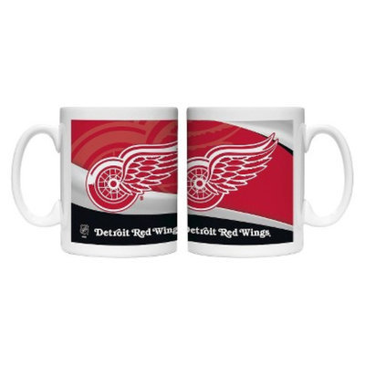 Boelter Brands NHL 2 Pack Detroit Red Wings Wave Style Mug -