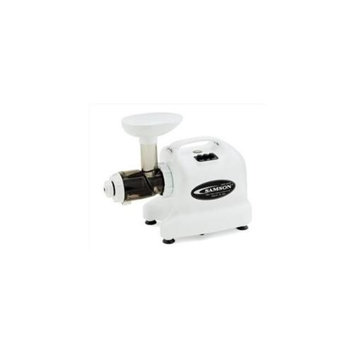 Samson-healthnut Alternatives GB9004 Single Gear Juicer - White