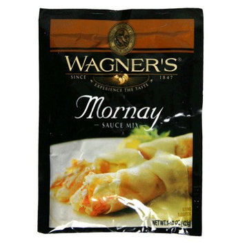 Wagner's Wagner Sauce Mix, Mornay, 1.5-Ounce Packets (Pack of 12)