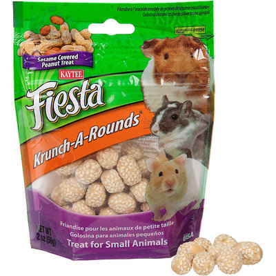 Kaytee Krunch-A-Rounds with Peanut Center for All Small Animals