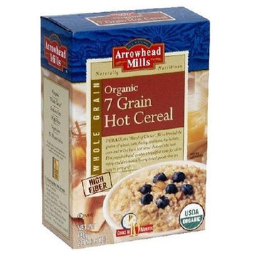 Arrowhead Mills 7 Grain Hot Cereal Organic Case of 12 - 22 OZ.