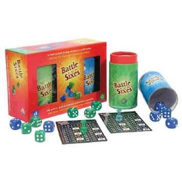 Family Games America Battle of the Sixes Dice Game, Ages 7+, 1 ea