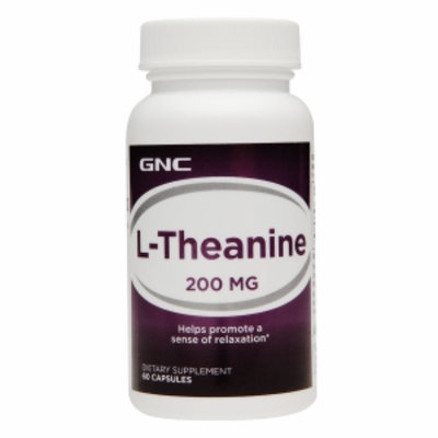 GNC L-Theanine 200mg, Capsules, 60 ea