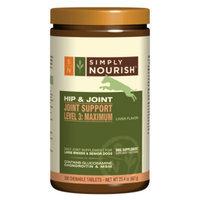 Simply NourishTM Hip & Joint Support Maximum Dog Supplement
