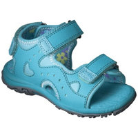 Toddler Girl's C9 by Champion Dru Sandals - Turquoise 9