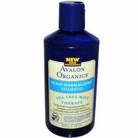 Avalon Organics Scalp Normalizing Shampoo Tea Tree Mint Therapy 14 fl oz