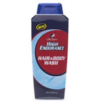 Old Spice Spice High Endurance Conditioning Hair and Body Wash - 18 Oz (Pack of 6)