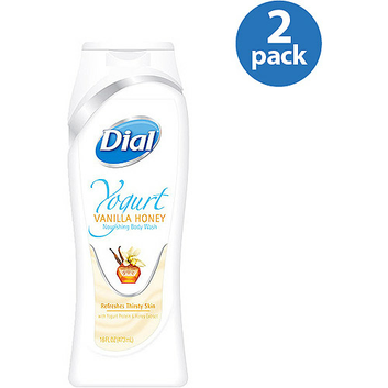 Dial Yogurt Vanilla Honey Body Wash