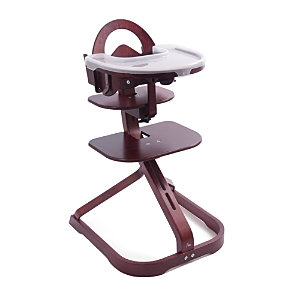 Svan Signet Complete Wooden High Chair - Mahogany