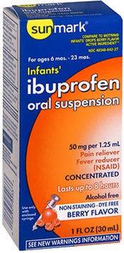 Sunmark Infants Ibuprofen Oral Suspension, Berry 1 oz by Sunmark