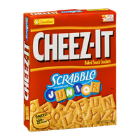 Cheez-It Baked Snack Crackers Scrabble Junior