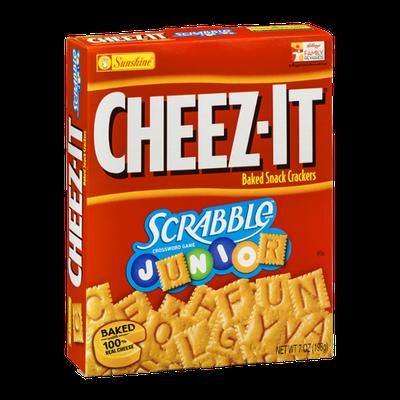 Cheez-It Baked Snack Crackers Scrabble Junior