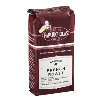 Papa Nicholas Coffee Ground French Roast Medium/Dark