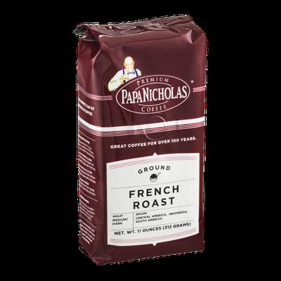 Papa Nicholas Coffee Ground French Roast Medium/Dark