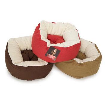 Dog Gone Smart Rubie Roadie Cuddler Bed Khaki