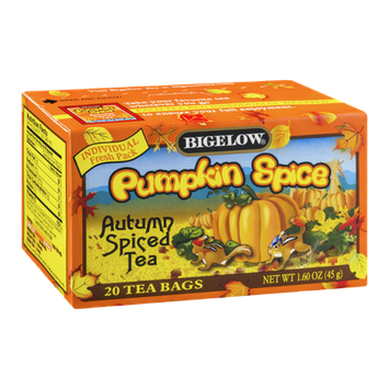 Bigelow Pumpkin Spice Autumn Spiced Tea - 20 CT