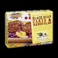 Moo Moo's Vegan, Gluten Free & Lactose Free Black Bean Cakes & Mango Slaw Vegetarian Cuisine