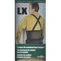 Fla Orthopedics Safe-T-Lift Back Support LX. Black. X-Small