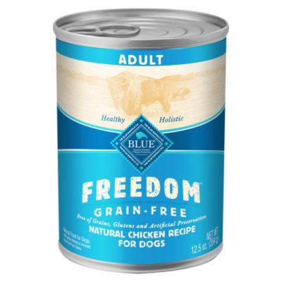 Blue Buffalo BLUE Freedom Grain Free Adult Dog Food Chicken