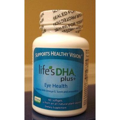 Martek Life's DHA Plus 400mg + Eye Health with DHA Omega 3, Lutein and Zeaxanthin 60 softgels