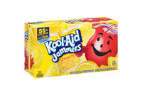 Kool-Aid Jammers Lemonade Flavored Drink Pouches