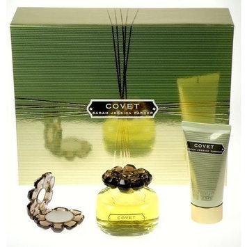 Covet by Sarah Jessica Parker for Women 3 Piece Set Includes: 3.4 oz Eau de Parfum Spray + 2.5 oz Rich Body Lotion + 0.08 Solid Parfum