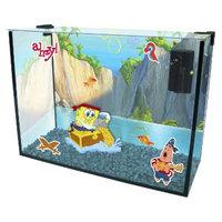 Spongebob Squarepants SpongeBob Paradise Cove Glass 4-Gallon Tank & Aquarium Kit from Penn-