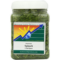 Mother Earth Products Dried Spinach, 1 Full Quart